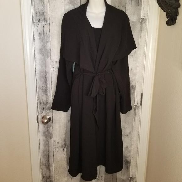6e4249f1fd Rue21 Swim | Plus Size Black Long Semi Sheer Cardigan Cover Up ...